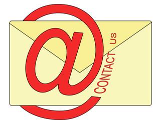 busta e mail per contatti