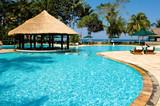 Fototapeta hotel - plaża - Relaks