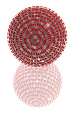 red spotted ball