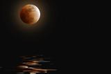 October Moon poster