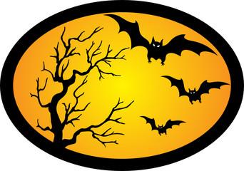 bat and tree