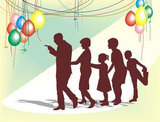 The family celebration