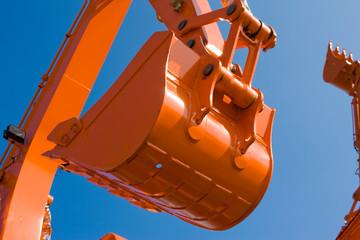 industrial series: heavy duty scoop of excavator