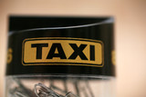 Fototapety taxi