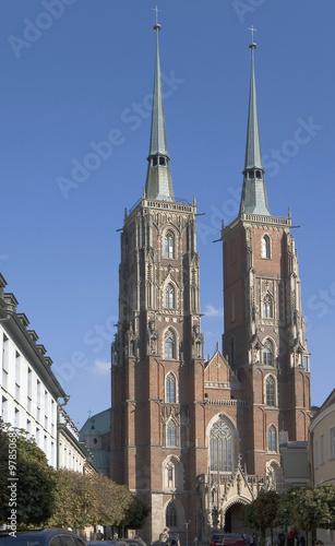 La cathédrale de Wroclaw © Jean-Jacques Cordier