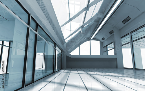 3d render of modern interior