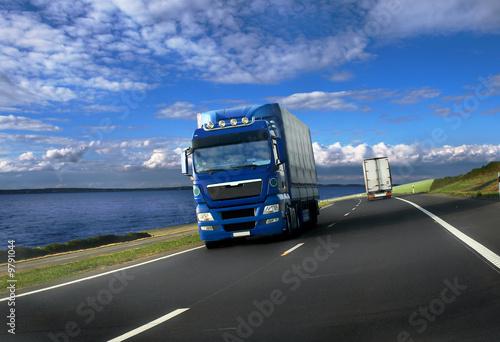 Leinwandbilder,lastkraftwagen,lastentransport,fracasso,verkehr