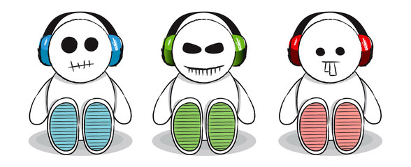 Scary Headphone Dudes