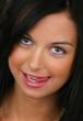 Erotischer Teenager mit Blick der Verführung