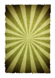 sunbeam graphic illustration on old paper background poster