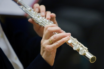 Flutists Woman