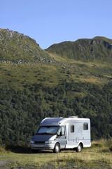 camping-car et moyenne montagne