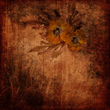 grunge shabby background poster