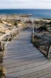 Stairway to the atlantic ocean