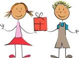 Fototapety enfants cadeau