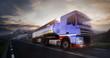 Fototapeta Tiry - Ciężarówka - Ciężarówka