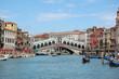 Bridge Rialto. Grandee the channel in Venice. Italy