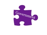 Government Puzzle Piece poster