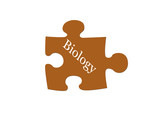 Biology Puzzle Piece poster