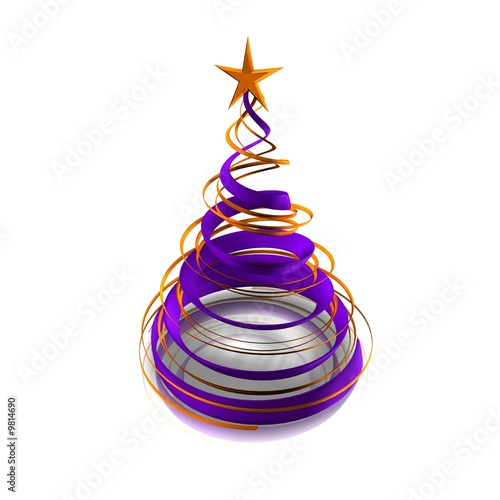 sapin violet de Thibault Renard, Photo libre de droits #9814690 sur ...