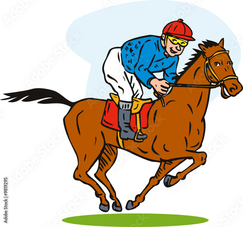 Horse Racing Stock Image And Royalty Free Vector Files