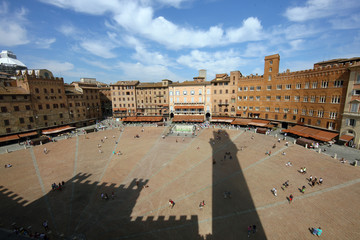 Italien, Toskana, Siena, Piazza del Campo