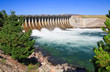 The Jackson Lake Dam at the Grand Teton National Park