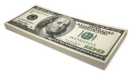 Sheaf of dollars