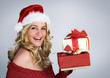Santa 3 / beautiful Santa-woman