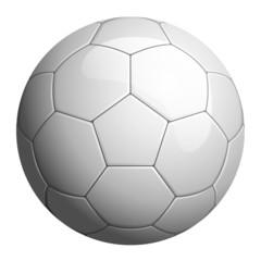 Pallone da calcio bianco
