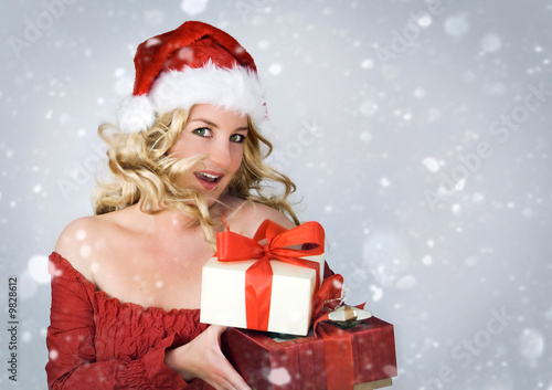 Santa 2_2 beautiful Santa-woman