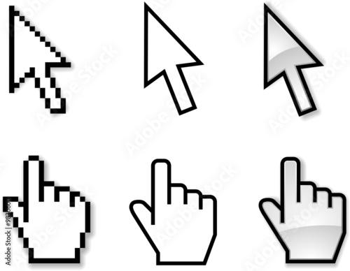 Icones pointeur souris