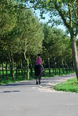 Promenade à cheval.
