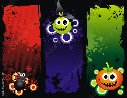 vector halloween illustration