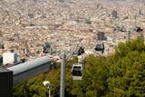 Teleferic De Montjuic Seen From Montjuic Castle, Barcelona poster