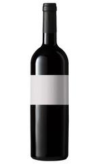 Bottiglia vino rosso