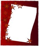 Weihnachten Karte braun poster