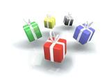 Cadeaux promotion couleurs poster