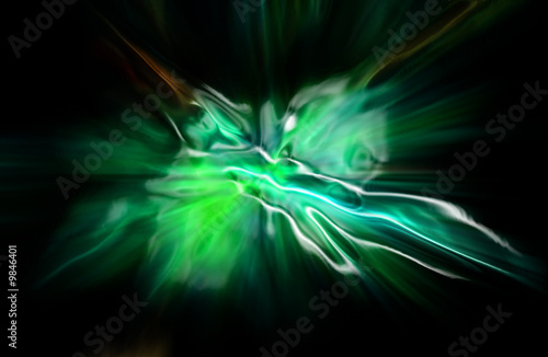 abstract green background generated by the computer