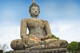 Buddha at World Heritage Site,Sukhothai,Thailand poster