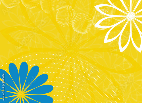 Spring Wedding Horizontal Landscape Background