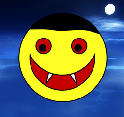 Vampire Happy Face 4