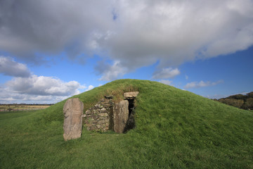 Bryn Celli Ddu Neolithic Burial Ground on the Isle of Anglesey