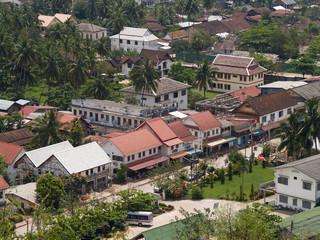 bird eye view  Luang Prabang  3
