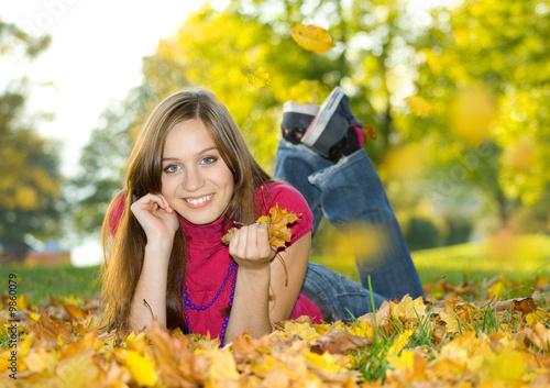 Leinwandbild Motiv autumn beauty 6