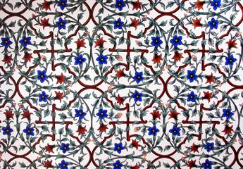 Fresque (fleurs)