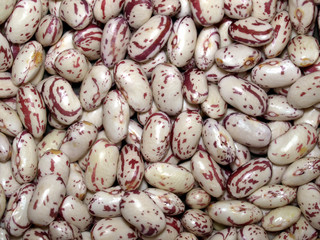 Beans soup salad food background