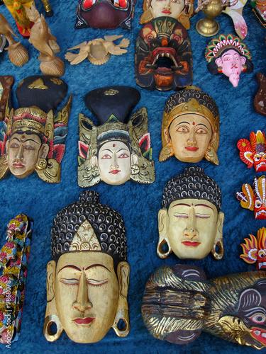 Mascaras de artesania exotica de indonesia fotos de - Artesania de indonesia ...