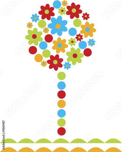 Obraz Flower tree
