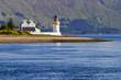 Lighthouse at a beautiful coastline